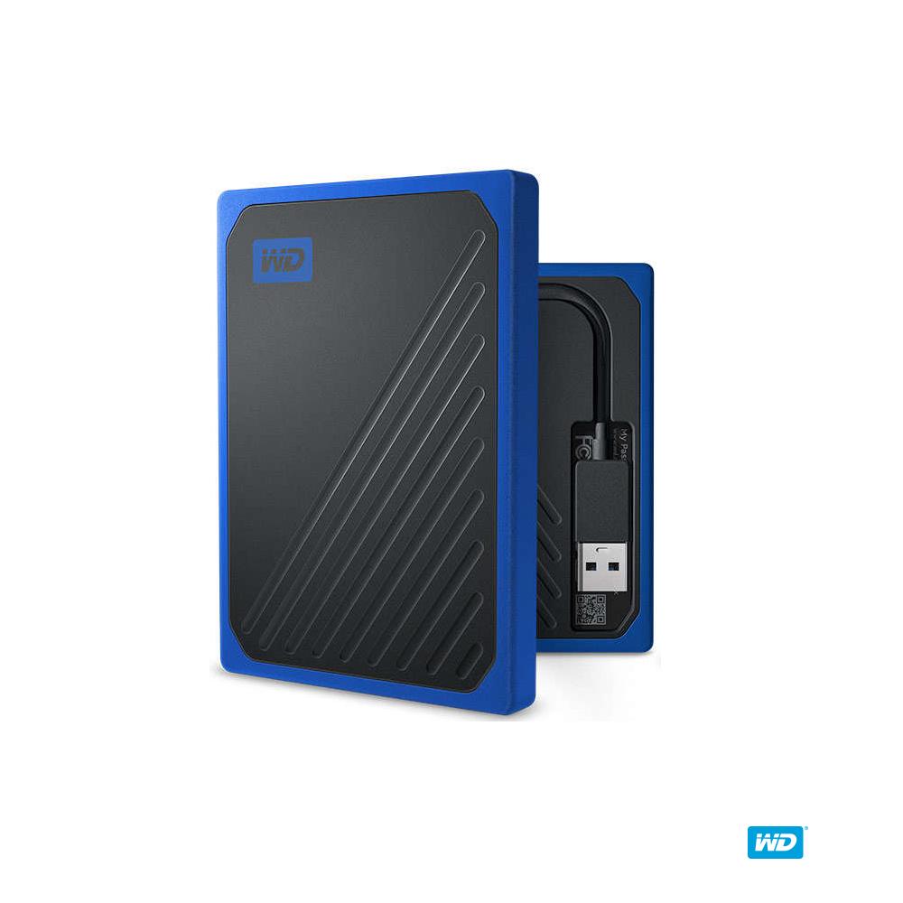 WD My Passport Go 500GB(黑/深藍) 外接式固態硬碟