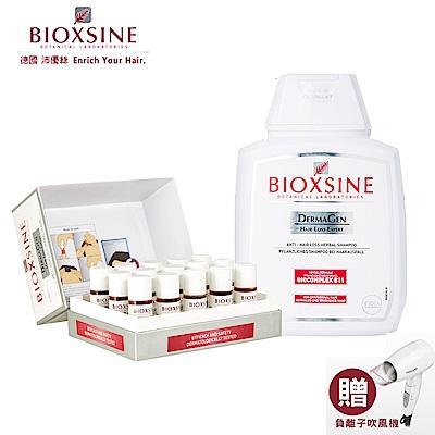 德國BIOXSINE沛優絲 強效密絲養髮組 - 正常髮質 買就送專業吹風機