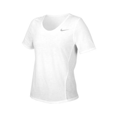 NIKE 女 短袖T恤 白銀