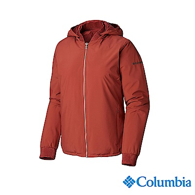 Columbia 哥倫比亞 女款-OT防水外套-暗紅 UWR01960WE