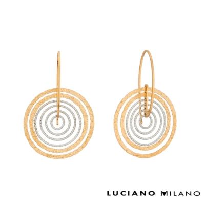 LUCIANO MILANO 青春渙采純銀耳環