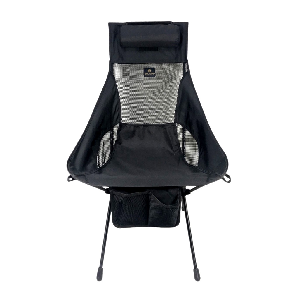 OWL CAMP L-1702 黑色高背椅