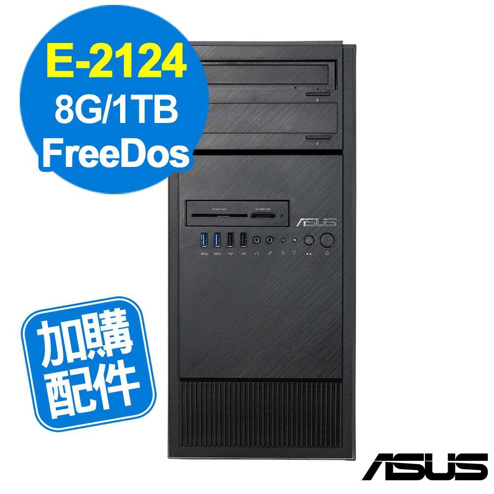 ASUS TS100-E10 E-2124/8GB/1TB/FD
