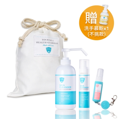 白因子 肌膚清潔防護液彌月禮特惠組 (L)
