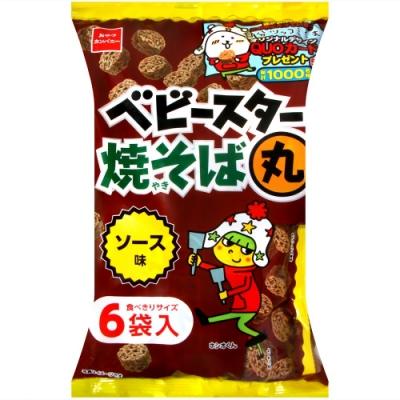 OYATSU 6袋入點心麵[醬汁炒麵風味](126g)