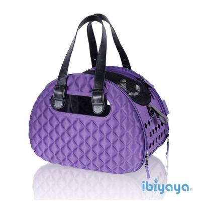 IBIYAYA依比呀呀-小香風寵物菱格包-紫色(FC1960)