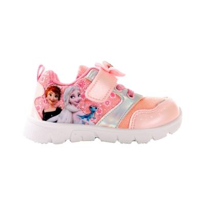 魔法Baby 女童鞋 台灣製迪士尼冰雪奇緣正版休閒運動鞋 sa04523
