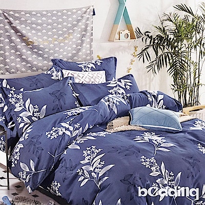 BEDDING-活性印染6尺雙人加大薄床包三件組-俏皮花仙