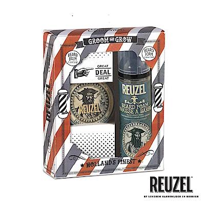 REUZEL GROOM & GROW鬍鬚保養造型禮盒組