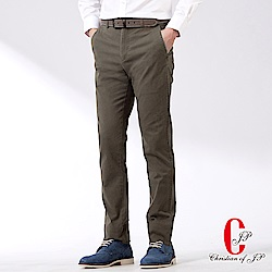 Christian 美式風格彈性休閒褲_-橄綠(HW501-1)
