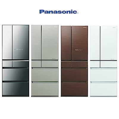Panasonic國際牌 600L 1級變頻6門電冰箱 NR-F604HX