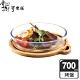 掌廚可樂膳 耐熱玻璃烤盤砧板700ML product thumbnail 1