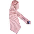 TOMMY 紅色條紋造型領帶