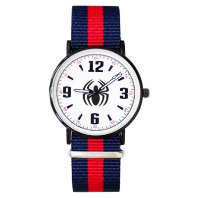 Disney迪士尼 Marvel漫威蜘蛛人超薄鏡面織紋手錶40mm