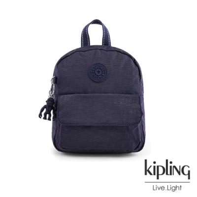 Kipling 黑醋栗紫迷你後背包-ROSALIND