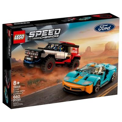 樂高LEGO Speed Champions系列 - LT76905 Ford GT Heritage Edition and Bronco R