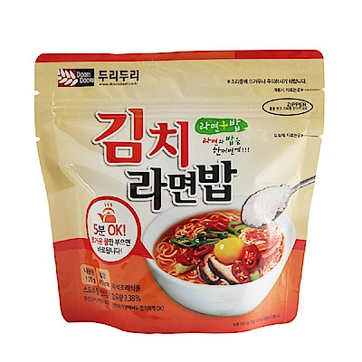 (活動)DOORI DOORI泡飯+泡麵 - 韓式泡菜口味  ( 105g/包 )