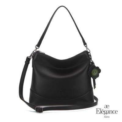 【Elegance】SHOMON 2WAY新月包-黑色