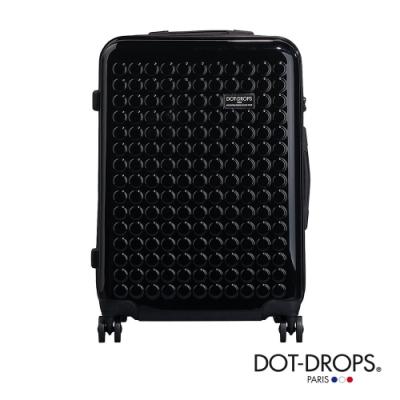 DOT-DROPS 24 吋 Chapter <b>2</b> 輕量客製點點硬殼行李箱 - 幻影黑