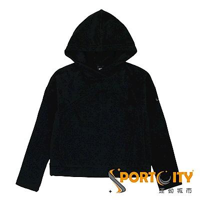 NIKE女 女 連帽上衣 黑色 929617010