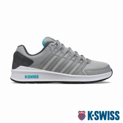K-SWISS Vista Trainer T時尚運動鞋-男-灰/藍