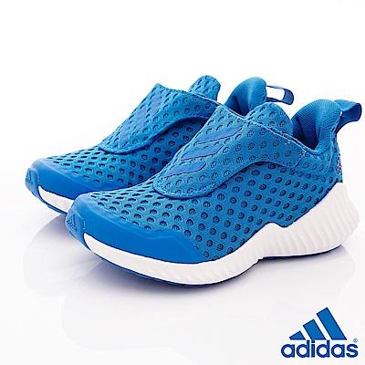 adidas童鞋 輕量透氣休閒鞋款 NI6887藍(中小童段)