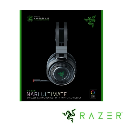 Razer Nari Ultimate 影鮫終極版 無線電競耳機