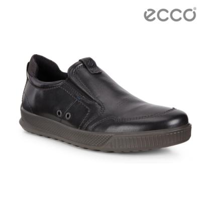 ECCO BYWAY 經典休閒套入式休閒鞋 男-黑
