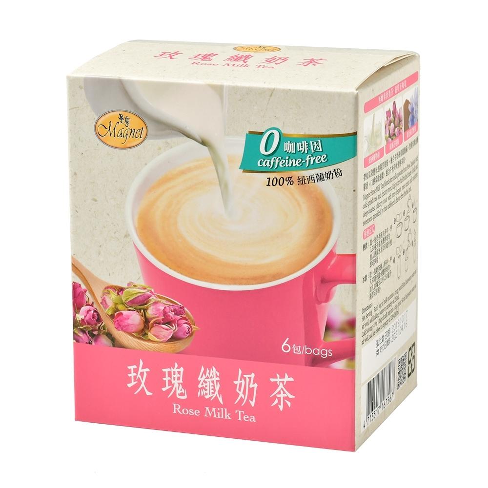 【曼寧】玫瑰纖奶茶(25g×6包)