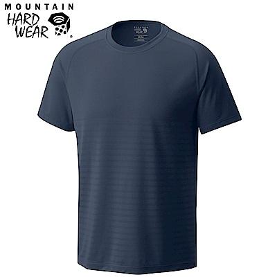 Mountain Hardwear 男款-快排短袖上衣-深灰