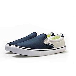 【ZEPRO】男子SLIP-ON系列輕便時尚休閒鞋-藍灰色