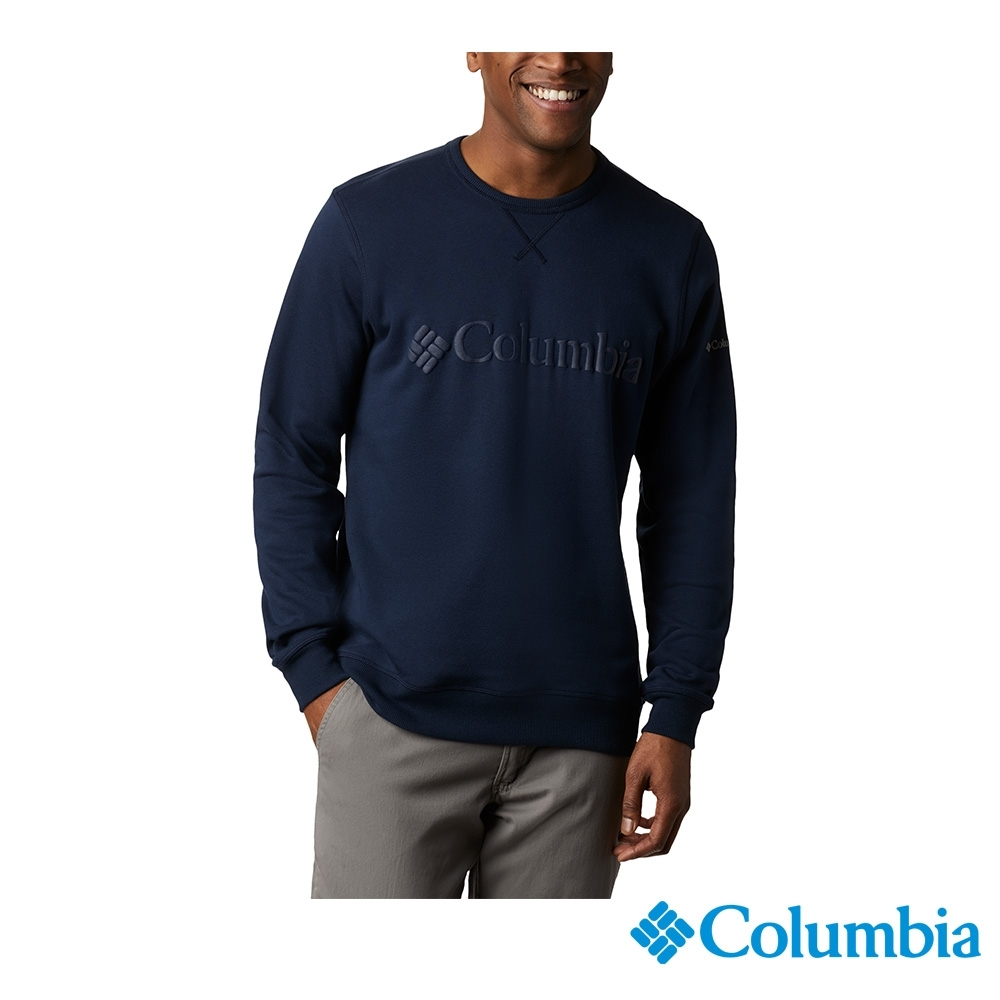 Columbia 哥倫比亞 男款 - Omni-Shade防曬50長袖上衣-深藍 UAE03580NY