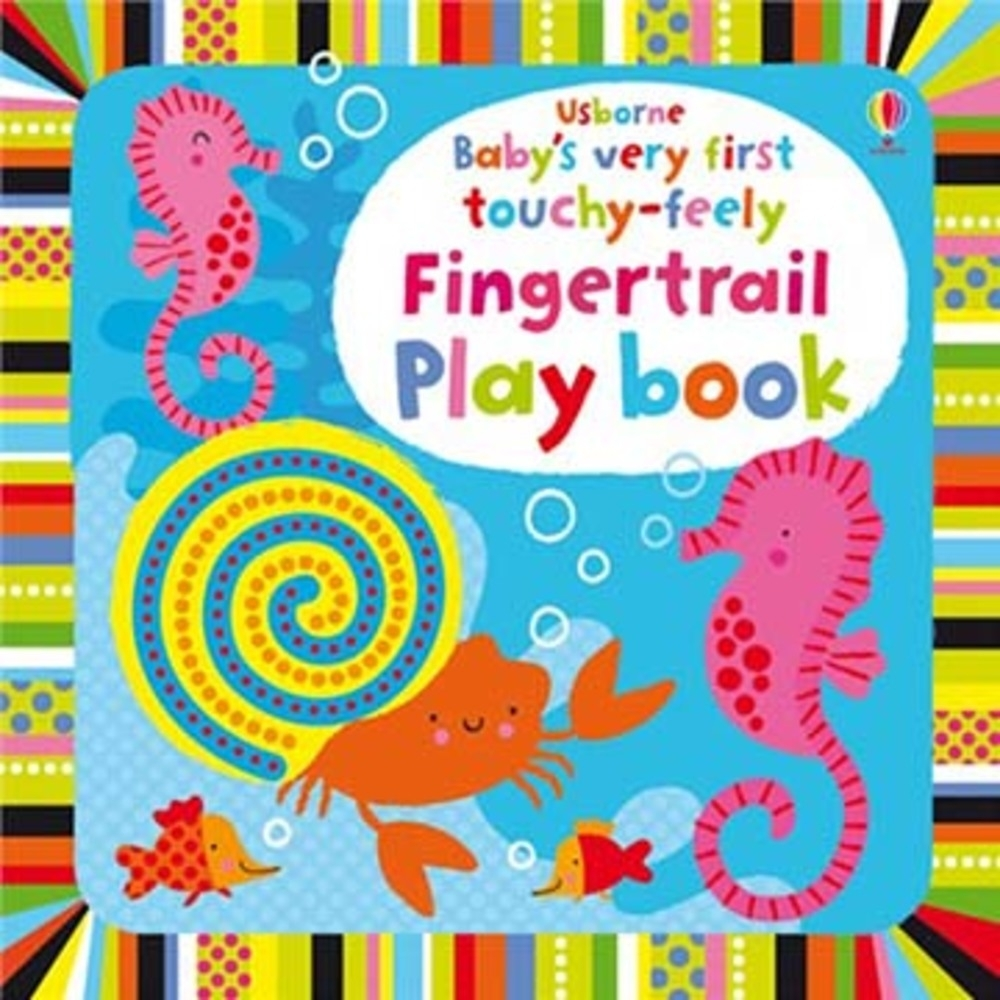 Baby's Very First Touchy-Feely 寶貝的第一本翻翻觸摸操作書:動動手 product image 1