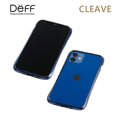 Deff CLEAVE 鋁合金保險桿 for iPhone iPhone 12 Mini 藍色