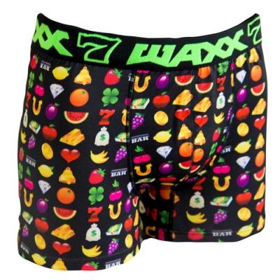 WAXX賓果拉吧設計款高質感吸濕排汗四角褲男內褲