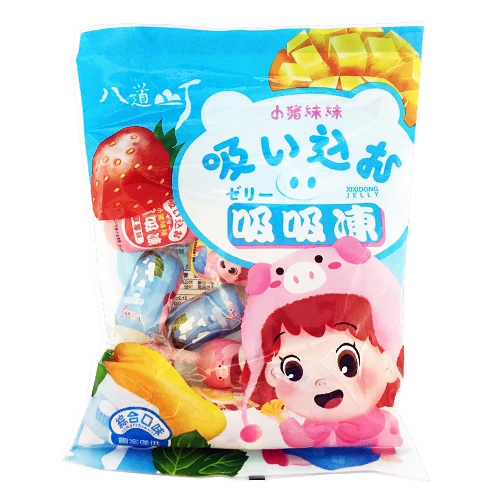 小豬妹妹 綜合風味吸吸果凍(350g)