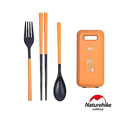 Naturehike 戶外輕巧旅行餐具組 橙色 - 急