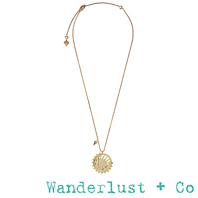 Wanderlust+Co 黎明項鍊 - 金色