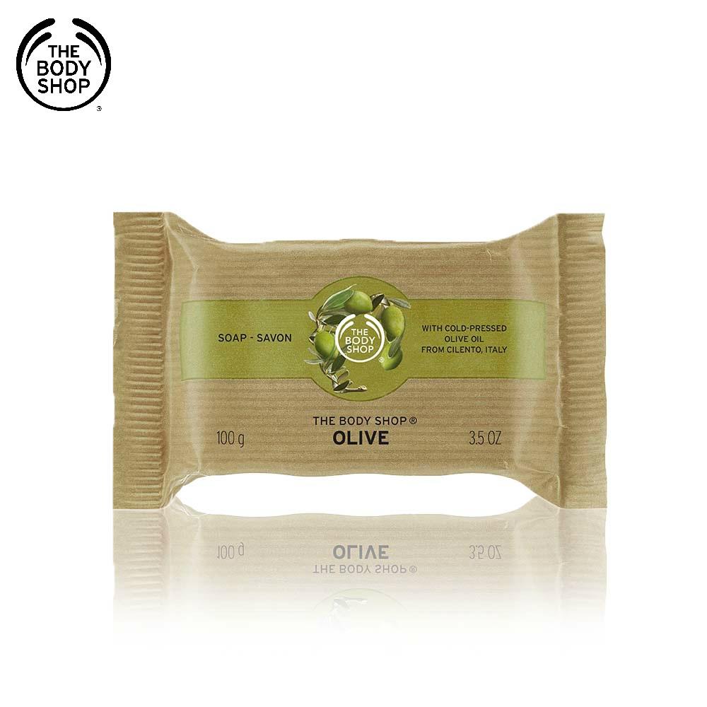 The Body Shop 橄欖活化潔膚皂-100G
