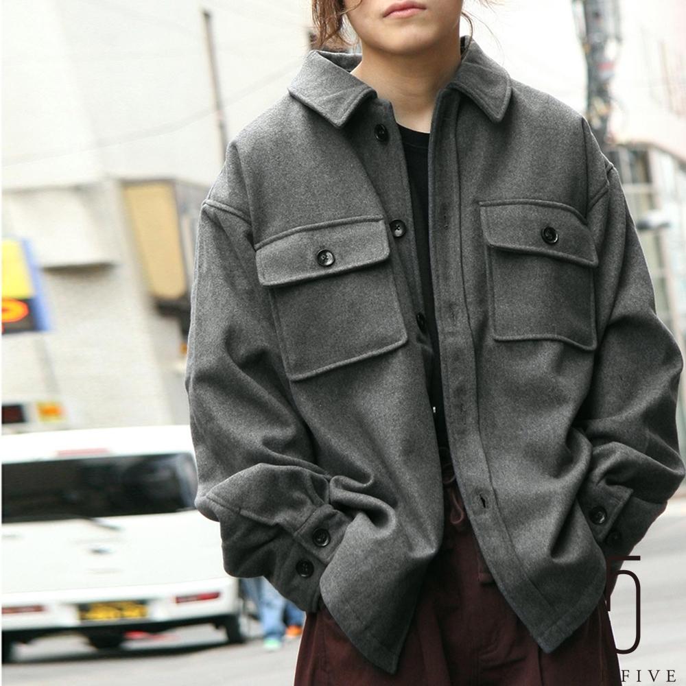 ZIP日本男裝 麥爾登毛呢CPO夾克外套 (9色) product image 1