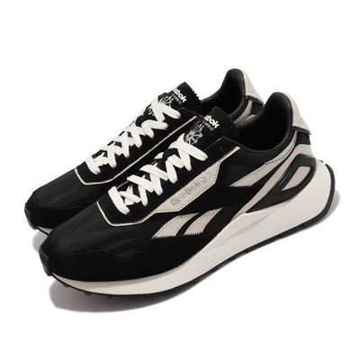 Reebok 休閒鞋 CL Legacy AZ 運動 男女鞋 復古 異材質拼接 舒適 情侶穿搭 黑 淺卡其 G55276