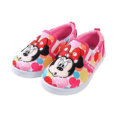 迪士尼米妮立體浮雕休閒布鞋 sk0805 魔法Baby