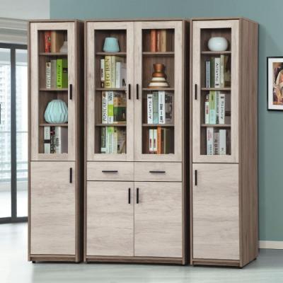 MUNA 艾妮雅雙色5.3尺書櫃 160X40X194cm