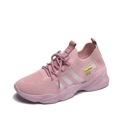 韓國KW美鞋館-極酷休閒運動鞋-粉紅色