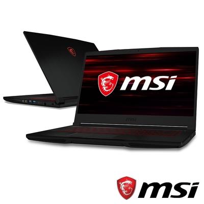 MSI微星 GF63 10SCSR-1644TW 15.6吋電競筆電(i7-10750H/8G/GTX1650Ti-4G/512G SSD/Win10/FHD/144Hz)