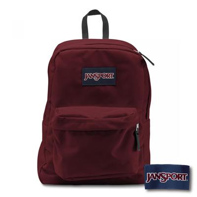 JanSport - SUPERBREAK 系列後背包 -聖誕紅