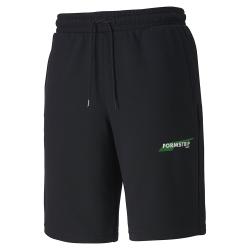 PUMA-男性流行系列Downtown短袖T恤-黑色-歐