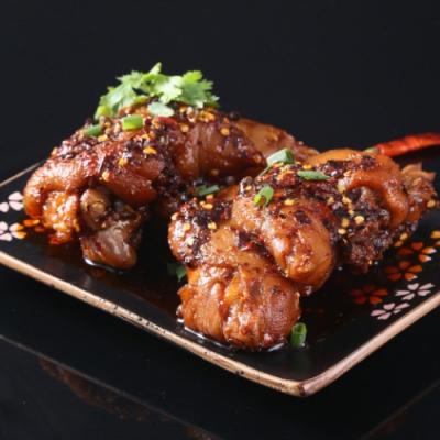 (滿額) 約克街肉舖川式椒麻干燒豬腳1包  (500g+-10%/包)