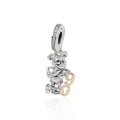 Pandora 潘朵拉 米奇90周年紀念限定 垂墜純銀墜飾
