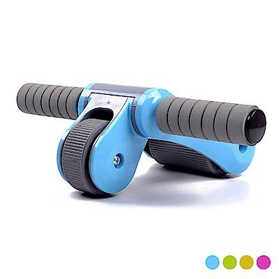 靜音折疊式雙輪軸承健腹輪(SP-T13)